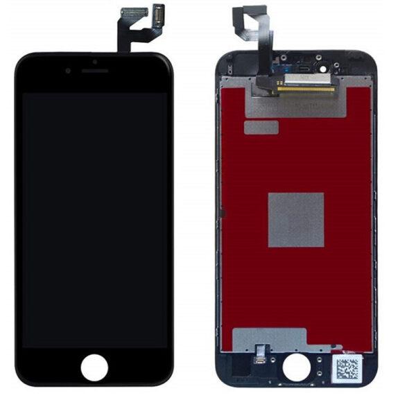 iPhone 6 Plus Skärm Med LCD Display - Svart