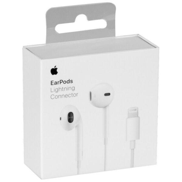 Apple EarPods MMTN2ZM/A Med Lightning-Kontakt (Med förpackning)
