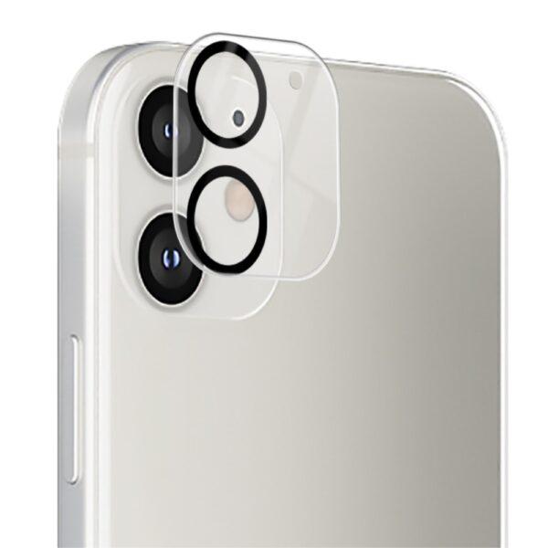 Heltäckande iPhone 12 Linsskydd 0.2mm