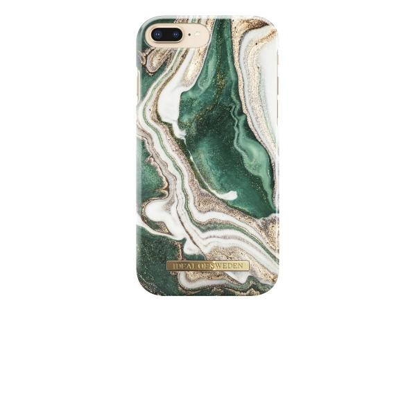 iDeal Fashion iPhone 6/6S/7/8 Plus Case Golden Jade Marble