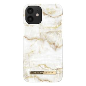 iDeal Fashion iPhone 12 Mini Case Golden Pearl Marble