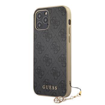 Guess Charms Skal För iPhone 12 Pro Max - Grå